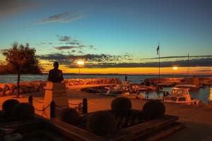 zadar Horvát tengerpart